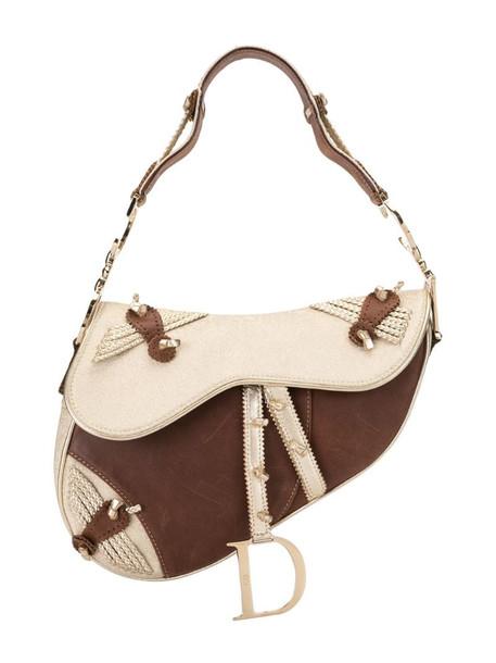 Christian Dior Trotter saddle bag in brown