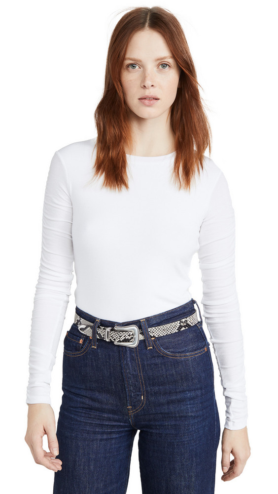 Veronica Beard Jean Clement Top in white