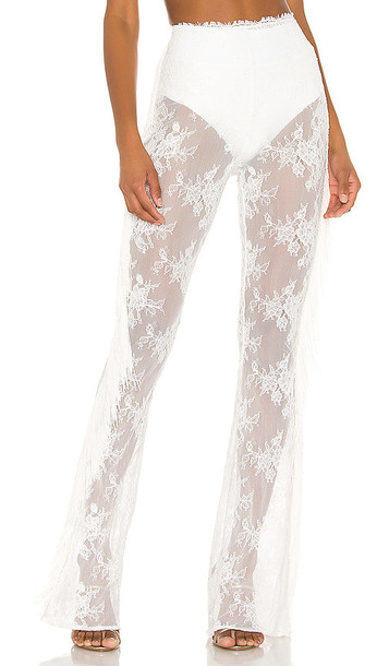Michael Costello x REVOLVE Freedom Pant in White