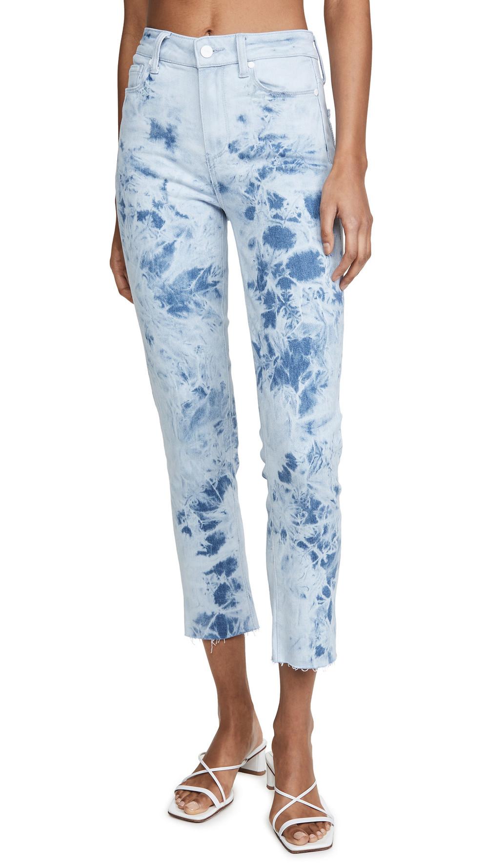 PAIGE Hoxton Slim Jeans in indigo