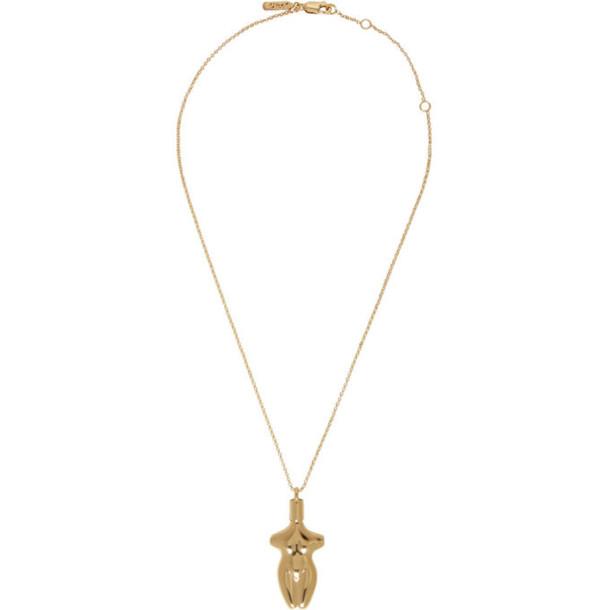 Chloe Gold Femininities Necklace