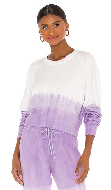 Splits59 Tilda Sweatshirt in Lavender,White