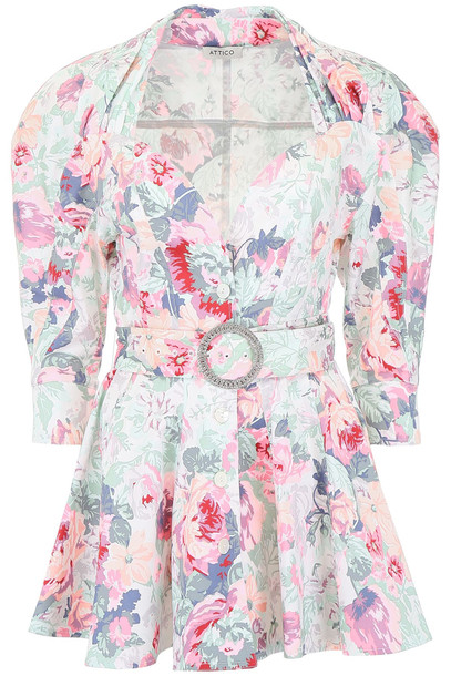 ATTICO Floral-printed Dress