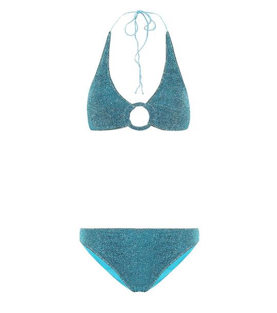 Oséree Lumière bikini in blue