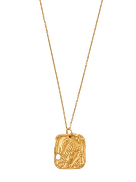 Alighieri - The Sorcerer 24kt Gold Plated Necklace - Womens - Gold