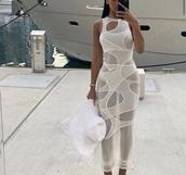 dress,white dress,white,trendy,help meh