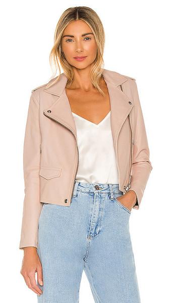 IRO Ashville Jacket in Blush in pink