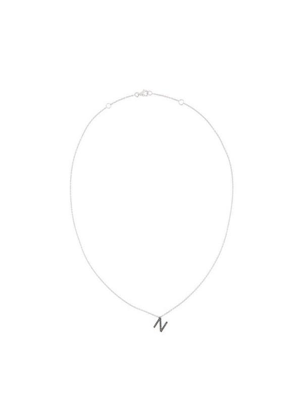 Alinka ID diamond necklace in metallic