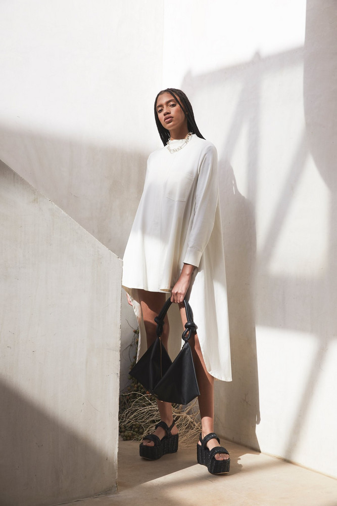 Cult Gaia Thessaly Dress - Off White (EXCLUSIVE)                                                                                               $428.00