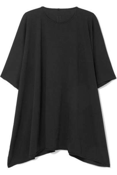 Rick Owens - Minerva Oversized Cotton-jersey T-shirt - Black