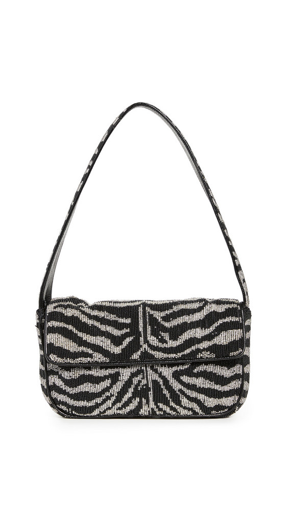 STAUD Tommy Bag in black / white