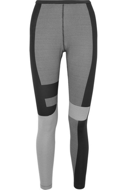 Nike - Tech Pack 2.0 Striped Stretch Leggings - Dark gray