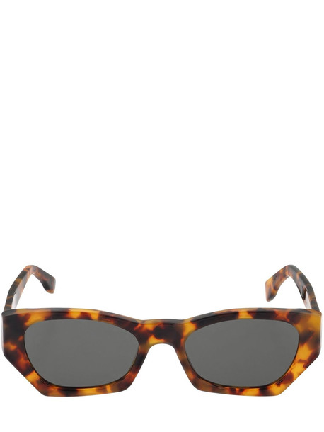RETROSUPERFUTURE Amata Havana Acetate Sunglasses in black