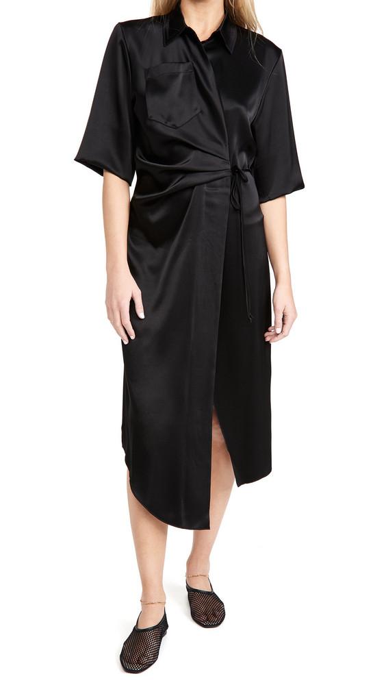 Nanushka Lais Dress in black