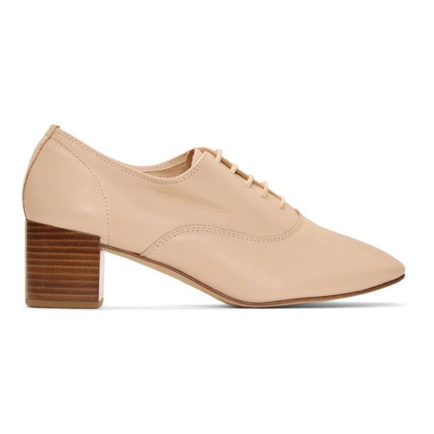 Repetto Beige Fado Heels