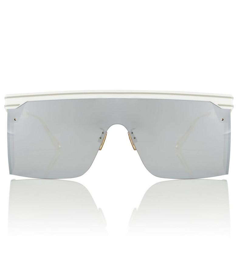 DIOR Eyewear DiorClub M1U square sunglasses in white