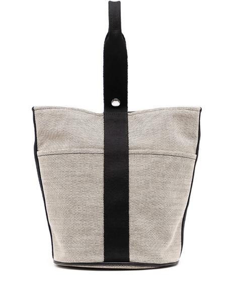 Hermès pre-owned Saxo MM tote bag in white