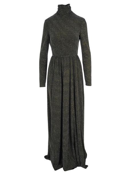 Philosophy di Lorenzo Serafini Philosophy Embellished Long Dress in black