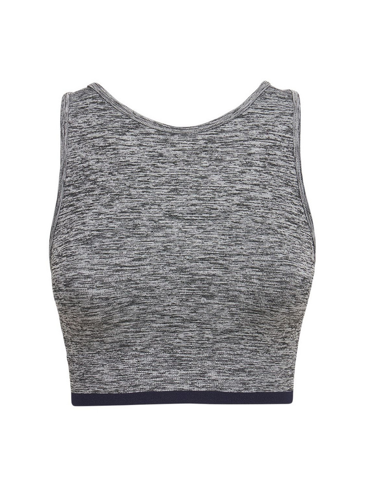 SPLITS59 Anna Seamless Bra Top in grey