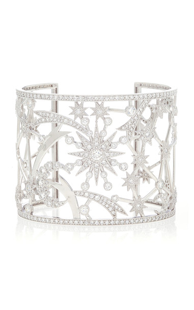 Colette Jewelry Star Galaxia Cuff in white