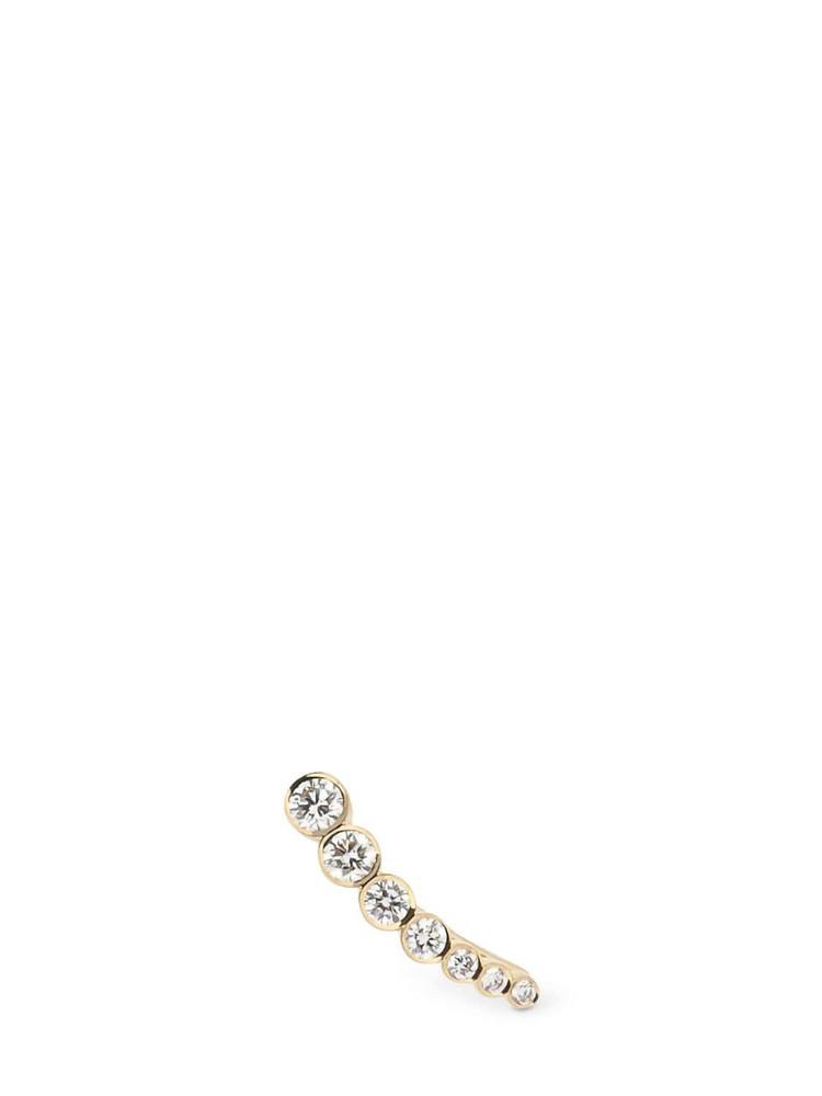 SOPHIE BILLE BRAHE Petite Croissant De Lune Mono Earring in gold