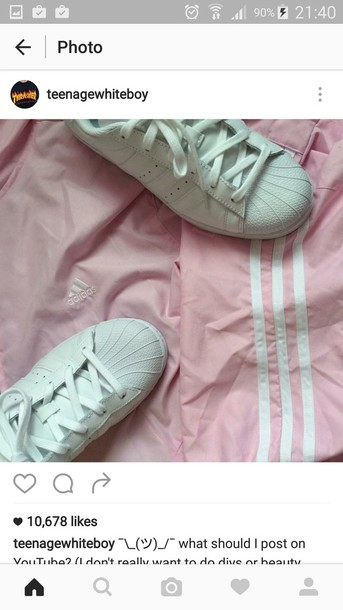 jacket adidas pink tumblr