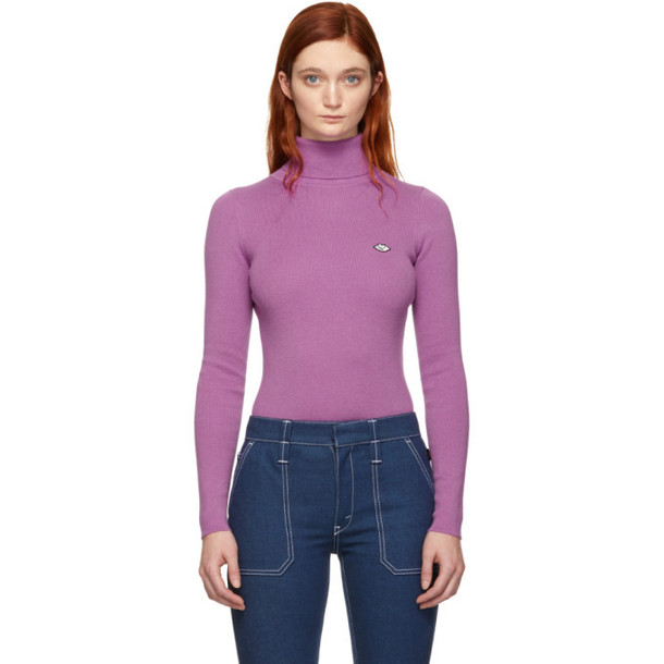 See by Chloé See by Chloé Purple Bisou Turtleneck