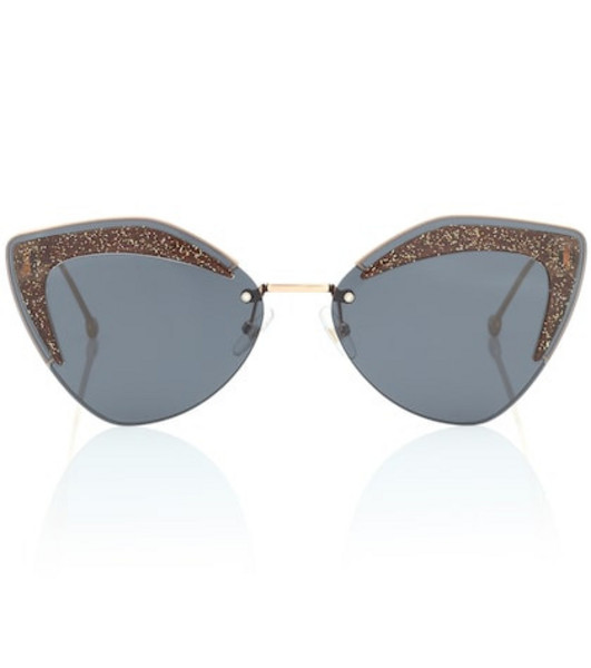 Fendi Glass sunglasses in black