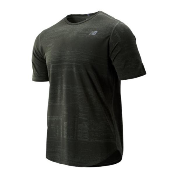 New Balance 93250 Men's Q Speed Breathe Short Sleeve - Green (MT93250SLG)