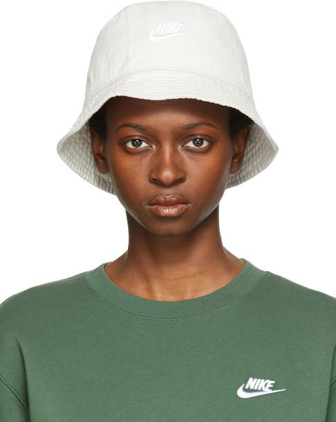 Nike White Sportswear Bucket Hat