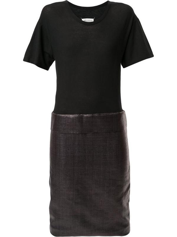 Maison Martin Margiela Pre-Owned round-neck dress in black