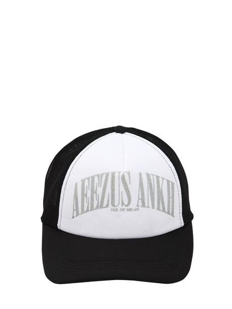 MAKE MONEY NOT FRIENDS Ae4 Snapback Baseball Hat in black