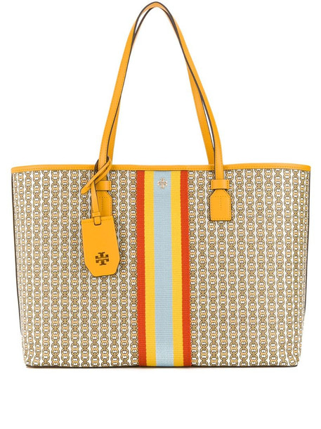 Tory Burch Gemini Link tote in yellow