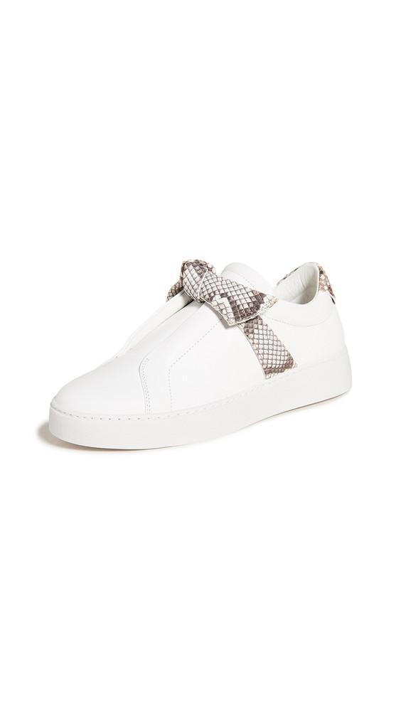 Alexandre Birman Jungle Sneakers in natural / white