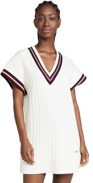 Victoria Victoria Beckham Cricket Sweater Dress