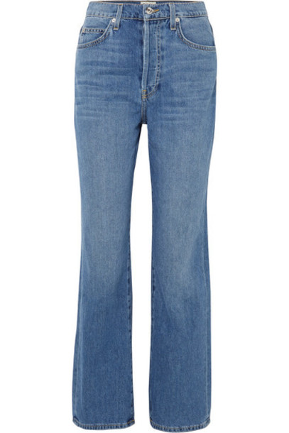 EVE Denim - Juliette High-rise Straight-leg Jeans - Light denim
