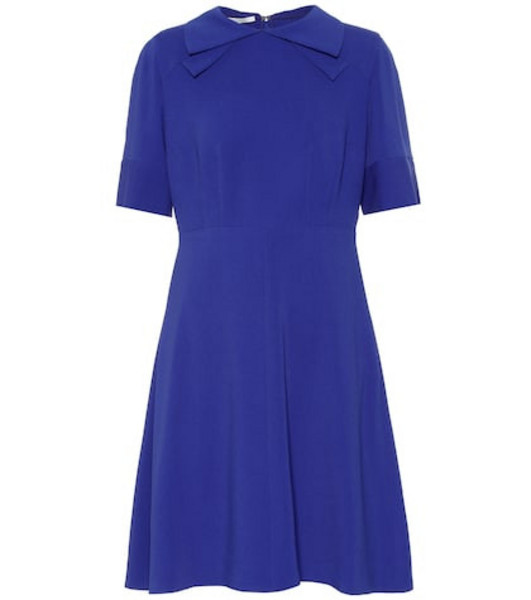 Stella McCartney Crêpe dress in blue