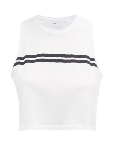 Lndr - Orbit Cotton Cropped Top - Womens - White