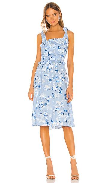 MISA Los Angeles Primrose Dress in Blue
