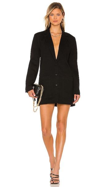 AFRM Royce Blazer Dress in Black