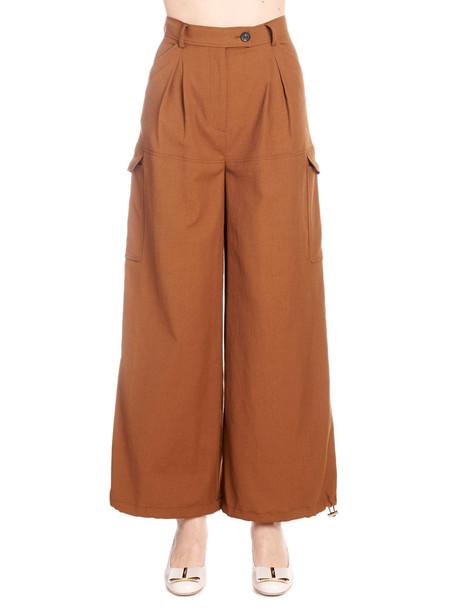 Salvatore Ferragamo Pants in brown