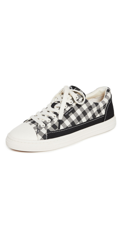 Tory Burch Classic Court Sneakers in black