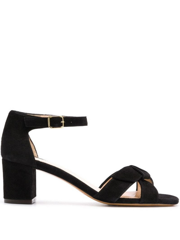 Tila March heeled sandals in black