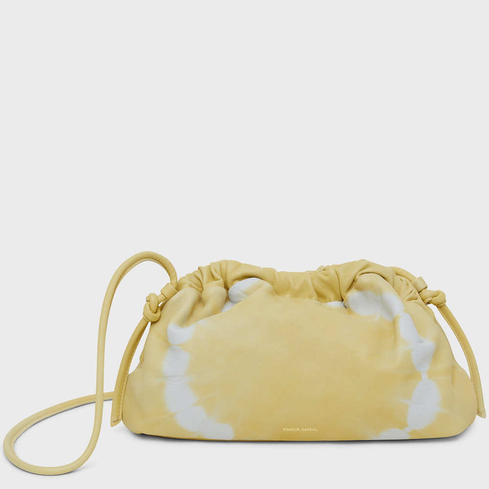 Mansur Gavriel Mini Cloud Clutch - Cedro Tie Dye