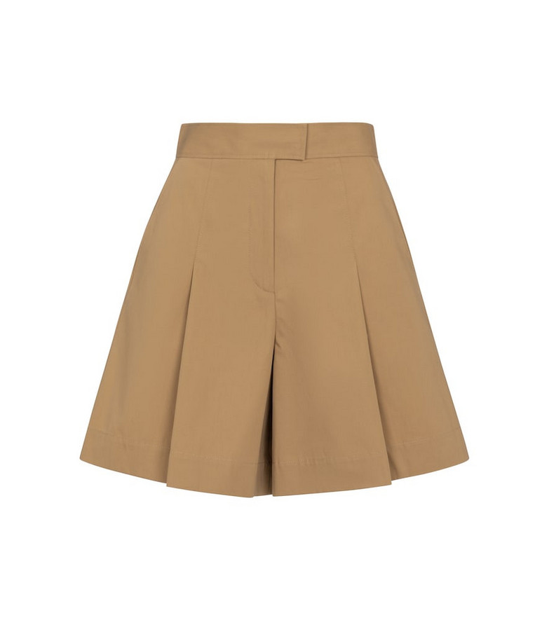 A.P.C. Diane cotton shorts in brown