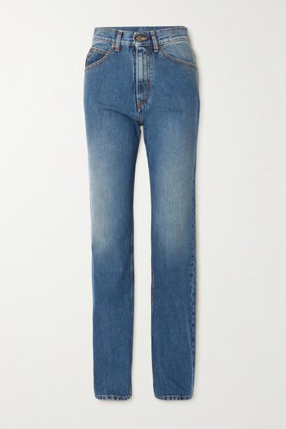 Maison Margiela - High-rise Straight-leg Jeans - Blue