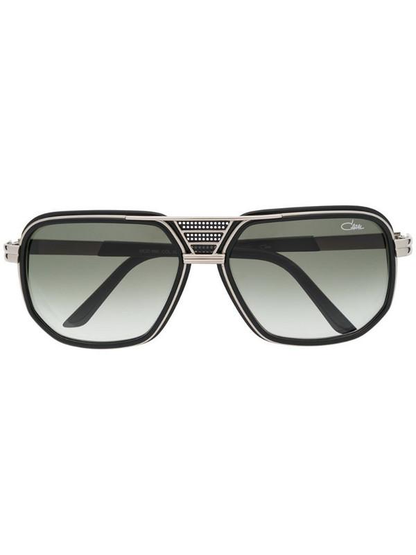 Cazal 666 square frame sunglasses in black
