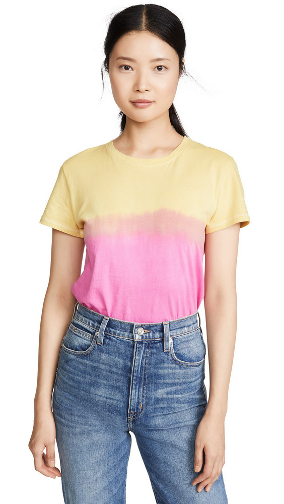 Prince Peter Ombre Tee in pink / yellow
