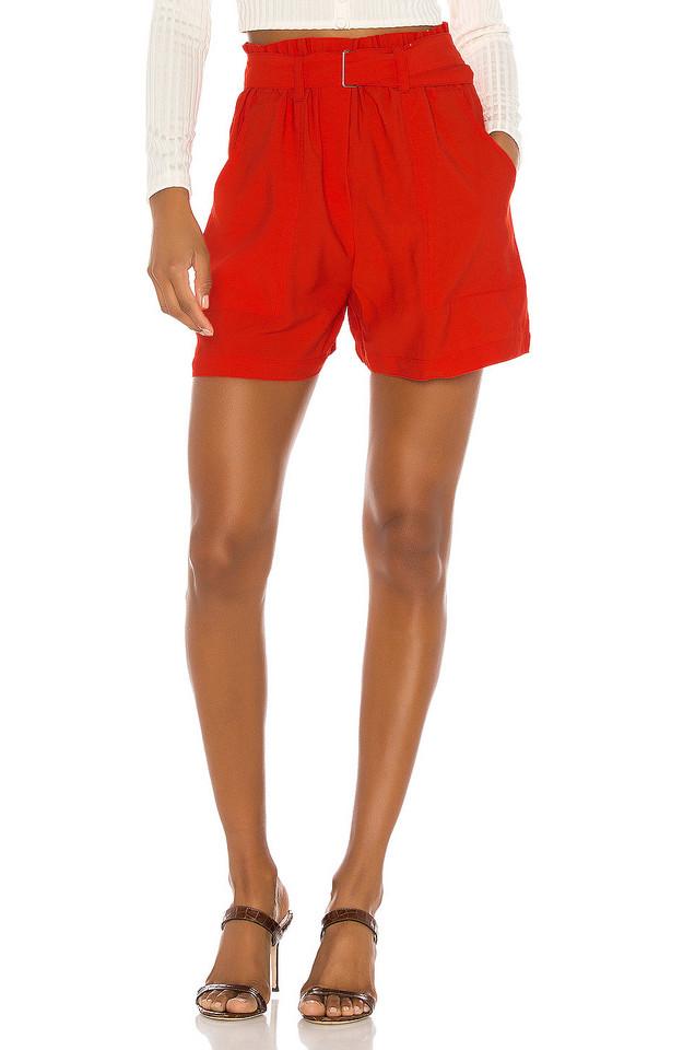 Sabina Musayev Hope Shorts in red