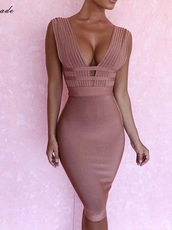 dress,girly,girly outfits tumblr,girl,girly wishlist,pink,pink dress,bodycon dress,bodycon,bandage dress
